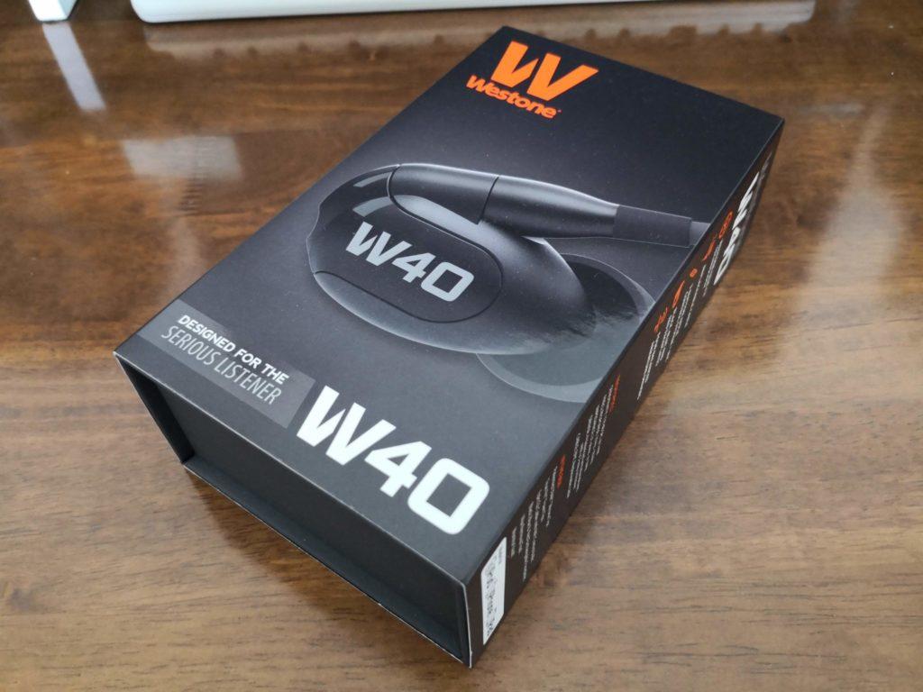 westone w40 箱