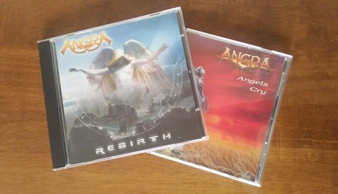 ANGRAのアルバム