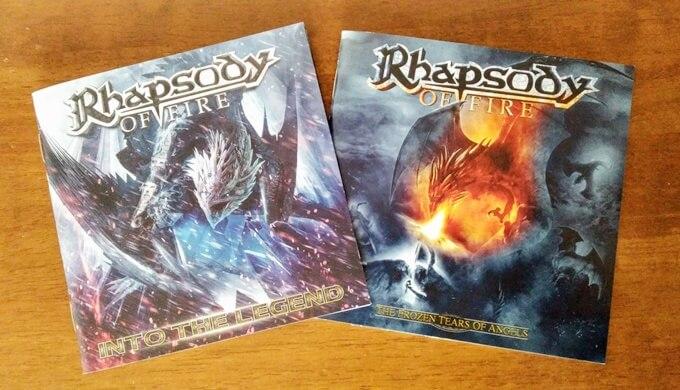 Rhapsody of Fireのアルバム