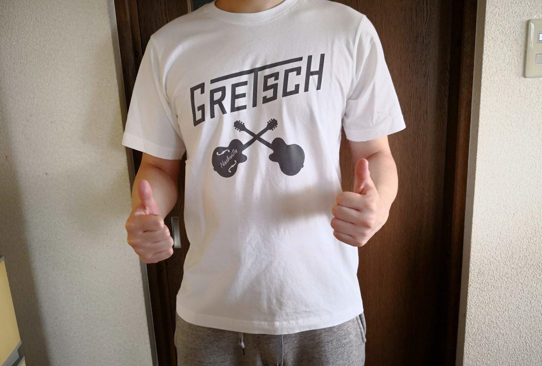 ギターのイラストTシャツはユニクロのUT(グラフィックTシャツ)でよく見かけるので要チェック