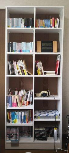 ニトリの本棚サラ