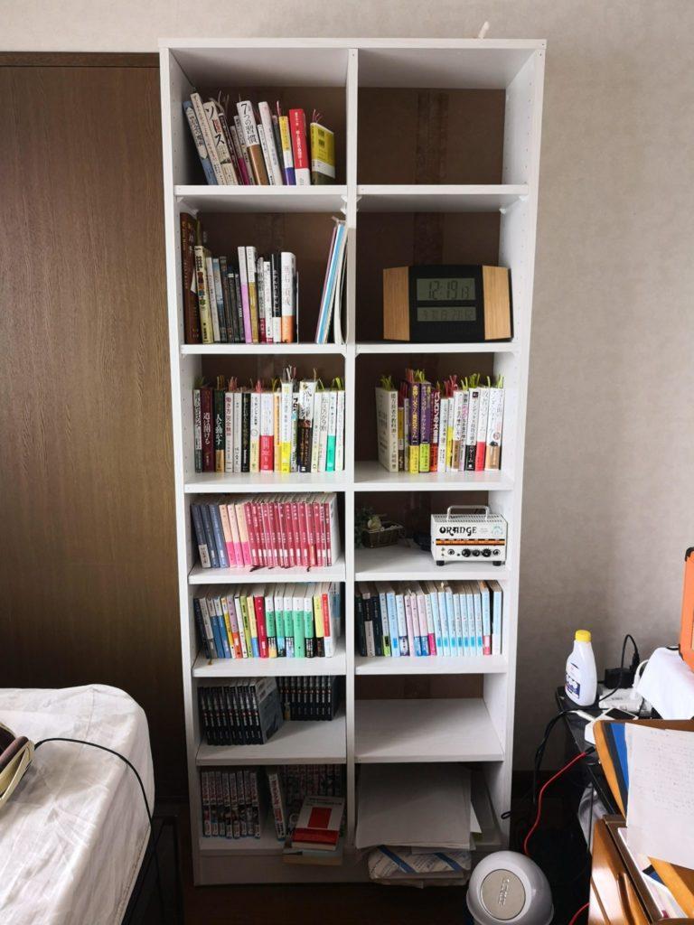 ニトリの本棚サラ 全体像