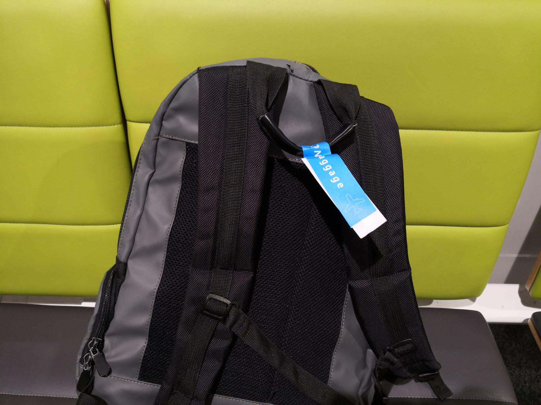 バニラエア手荷物確認シール