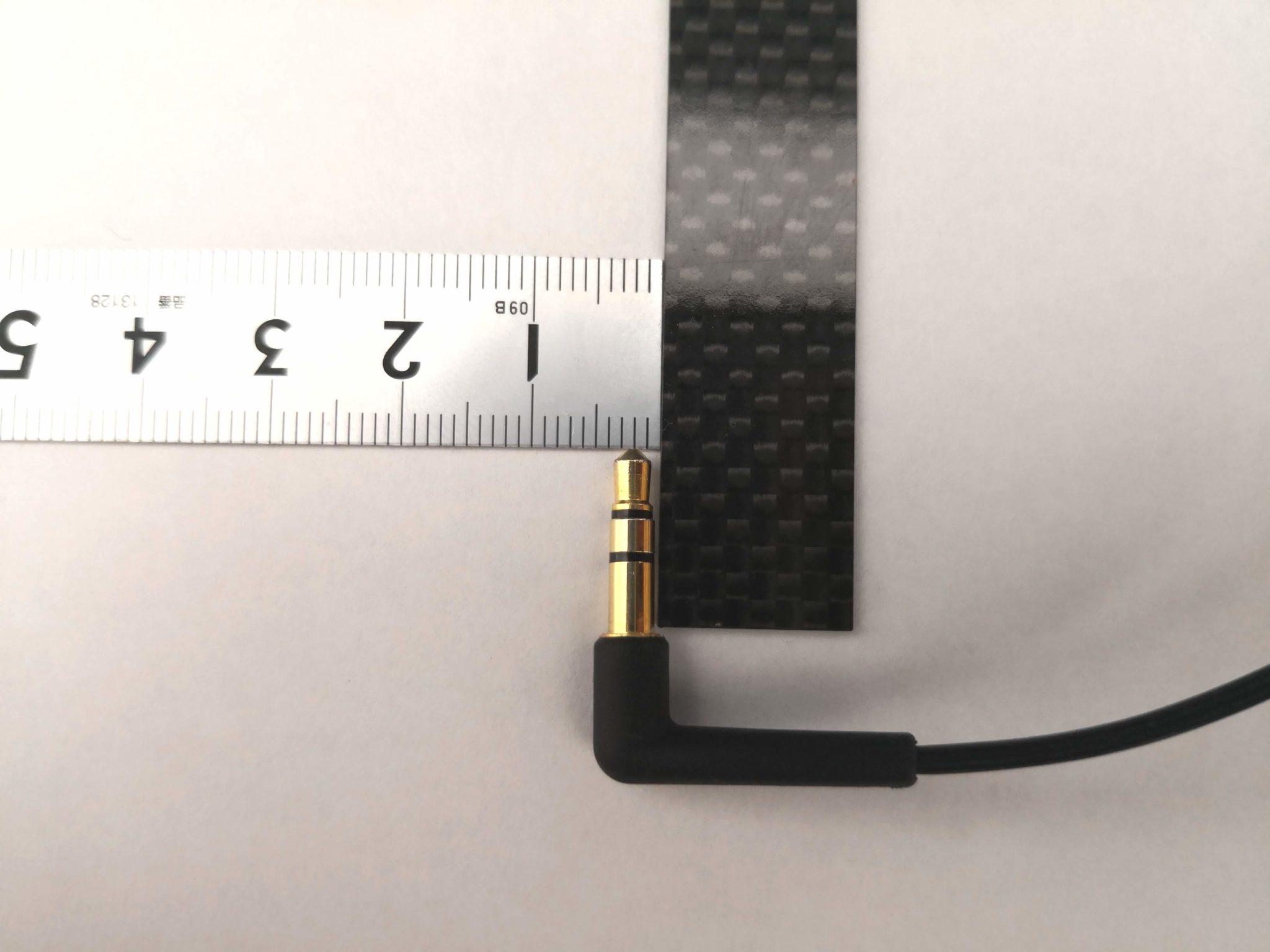 直径3.5mmのプラグ