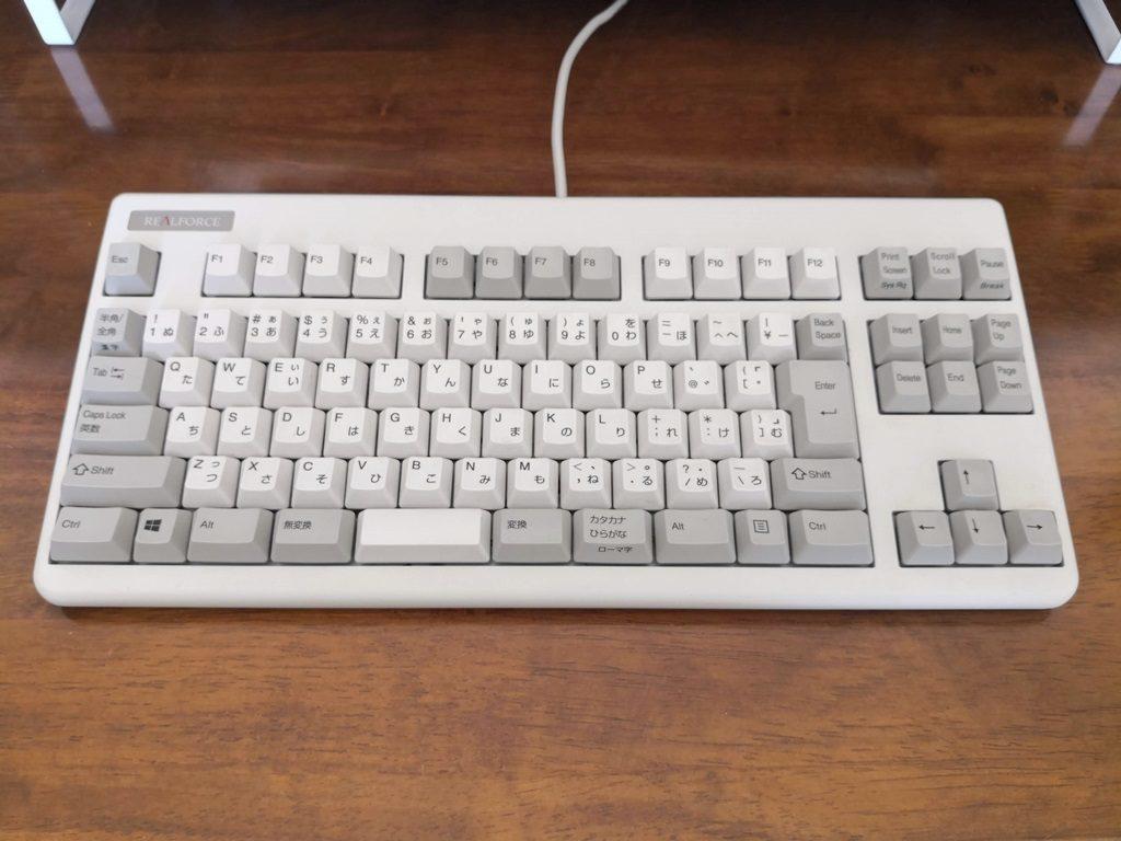 東プレのキーボードREALFORCE