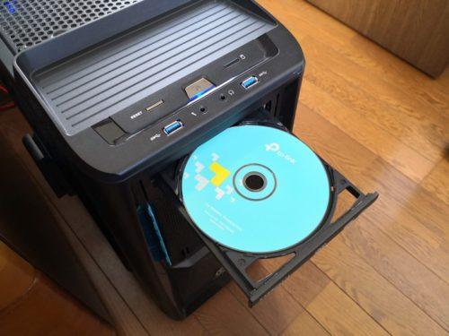 CDをPCに入れる
