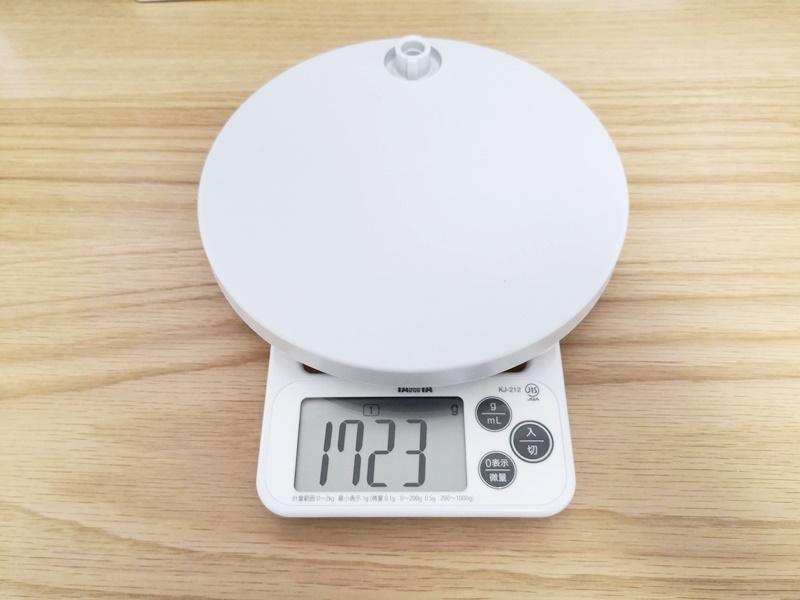 SQ-LD515のベースの重さ