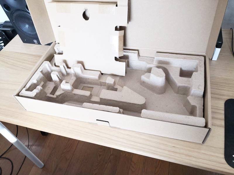 SQ-LD515の箱と梱包