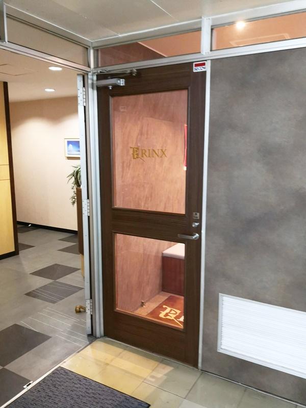 RINX札幌北口店の扉