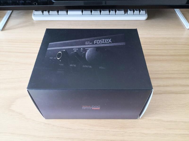 FOSTEX HP-A3の箱