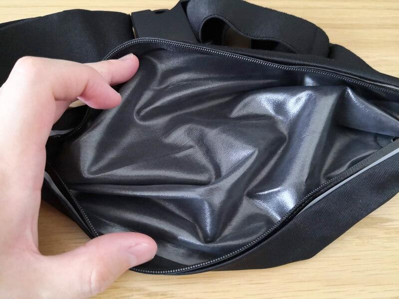 内側の防水素材