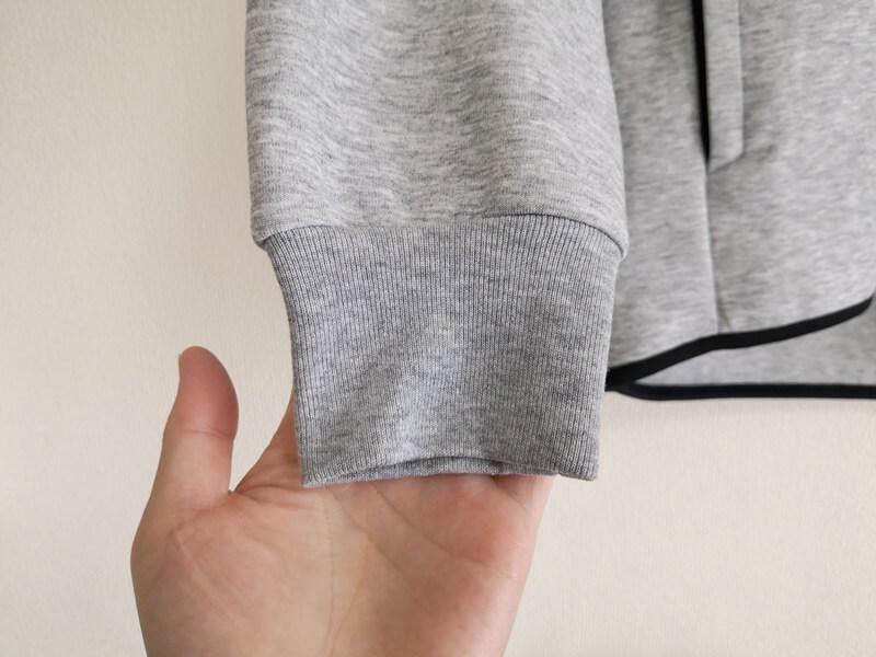 ドライストレッチスウェットパーカ 袖