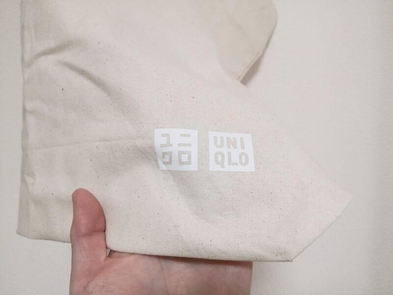 ユニクロのエコバッグ ロゴ