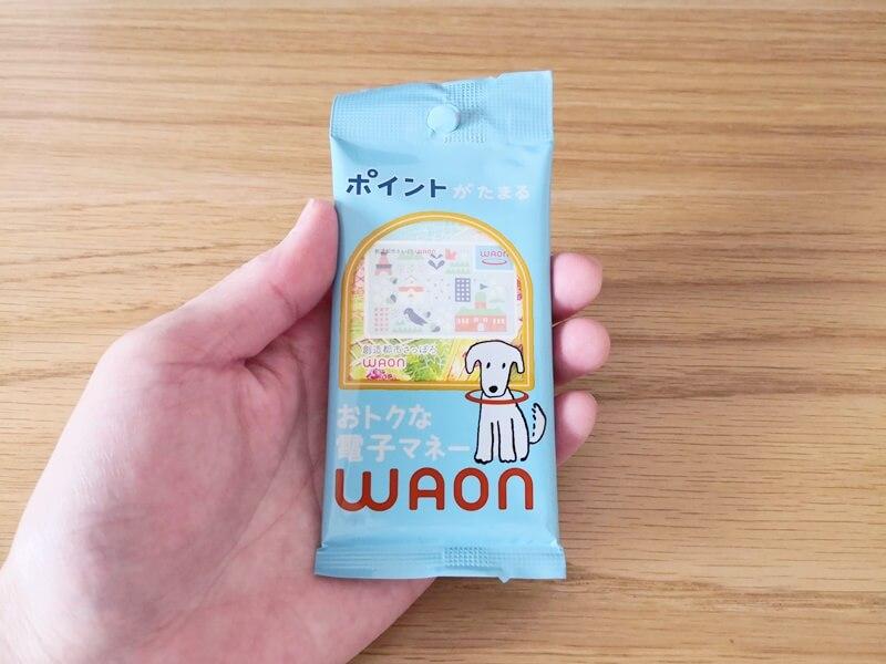 waonカード パッケージ表