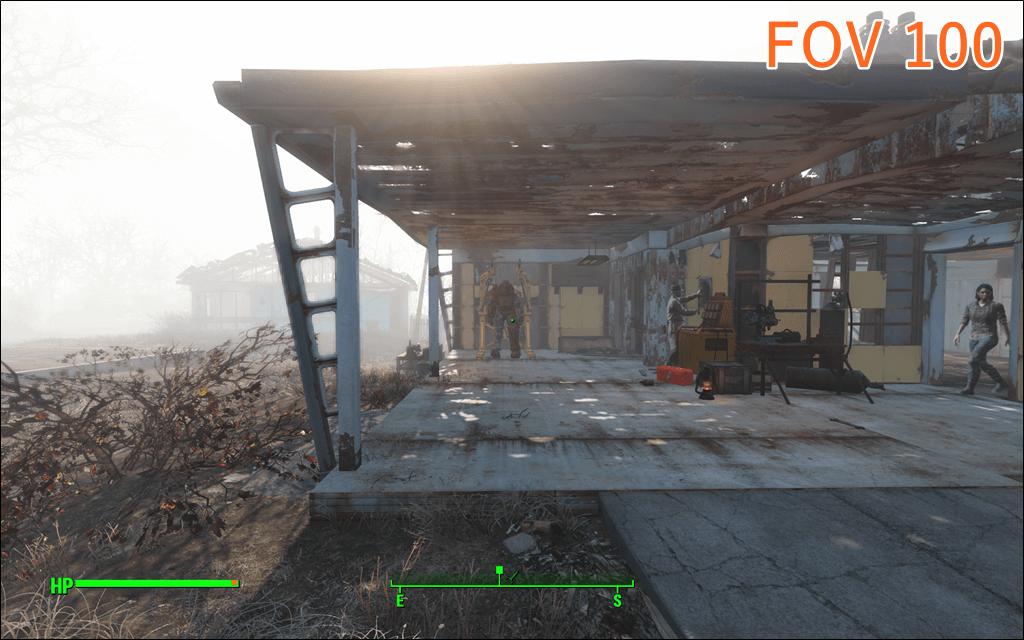 Fallout4 FOV 100