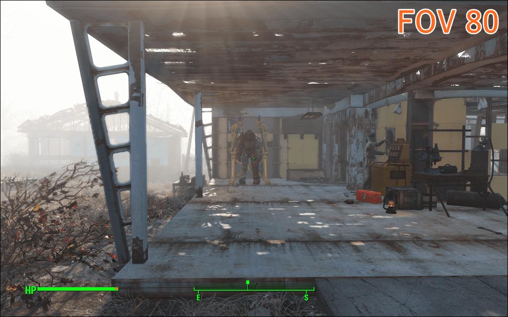 Fallout4 FOV 80