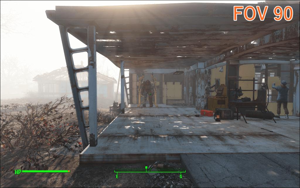 Fallout4 FOV 90
