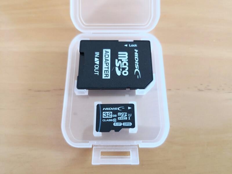32GBのSDカード