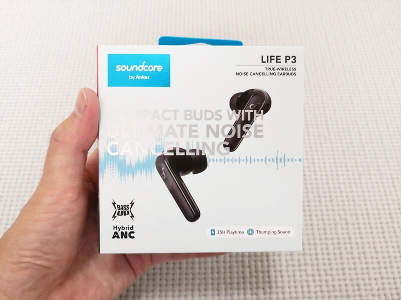 Anker soundcore LIFE P3 箱 表